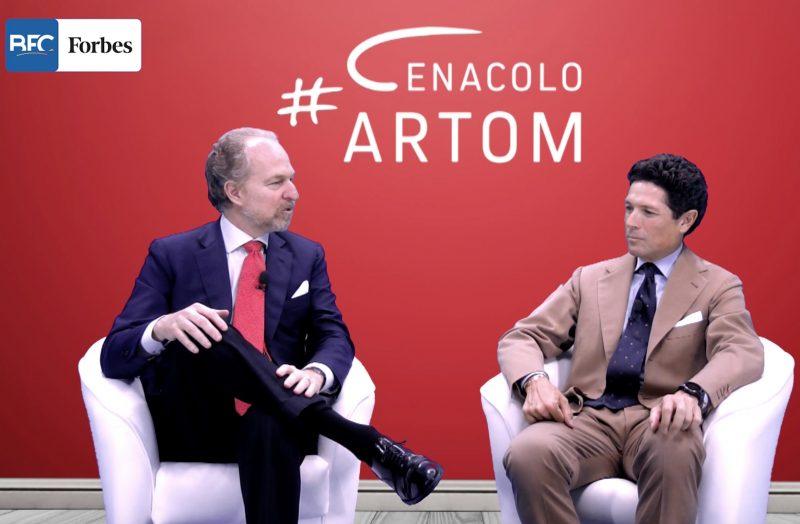 Matteo Marzotto ospite al Cenacolo di Arturo Artom