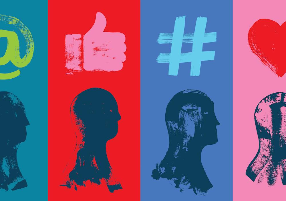 simboli dei social network