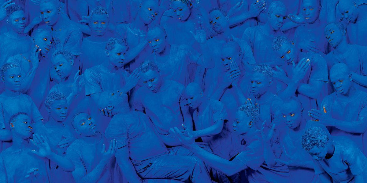 blu corpi persone