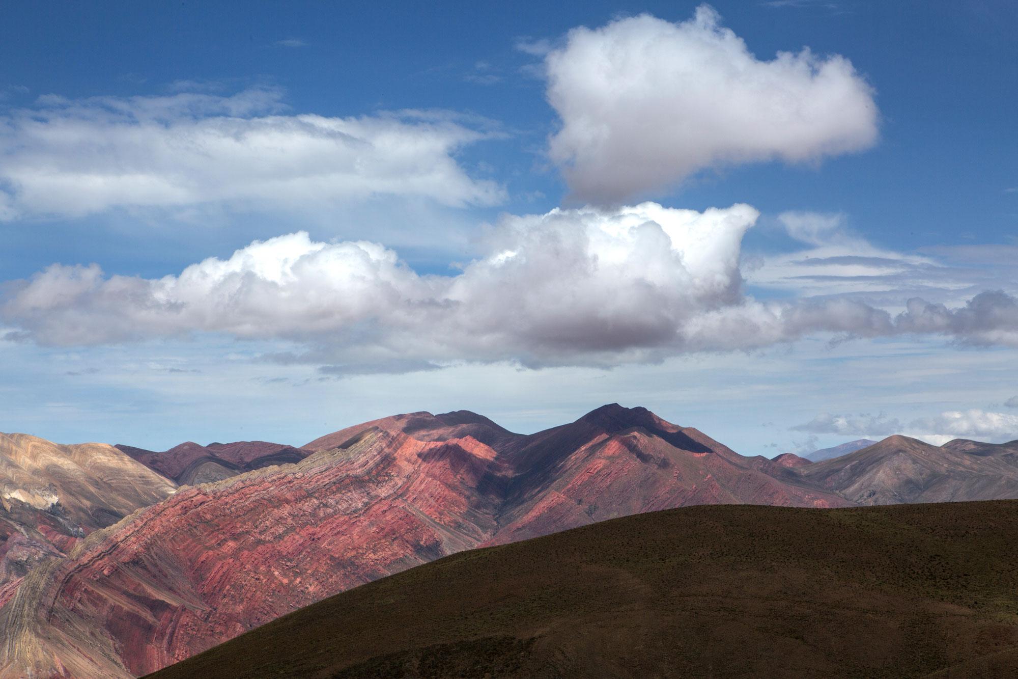 montagne cielo nuvole