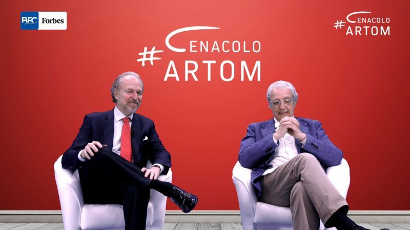 Cenacolo Artom: Arturo Artom intervista Davide Rampello