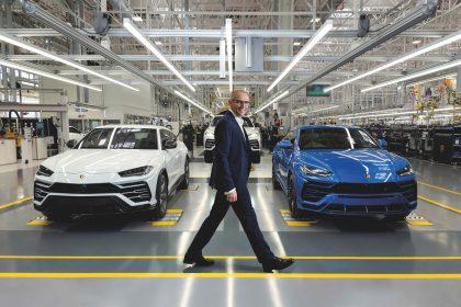 Lamborghini produrrà mascherine e visiere per combattere il coronavirus