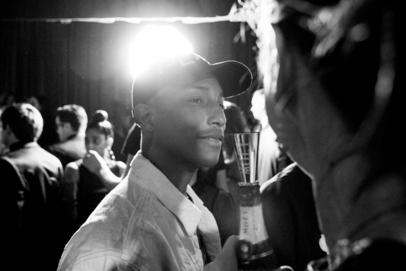 Pharrel Williams a un evento Netflix