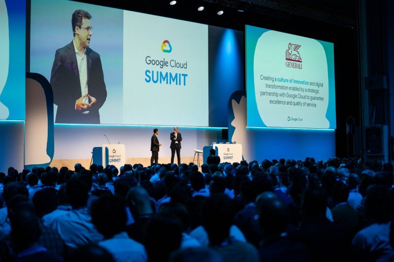 Uno dei momenti del Google Cloud Summit 2019