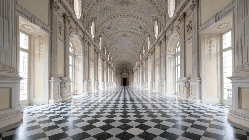 corridoio di un museo