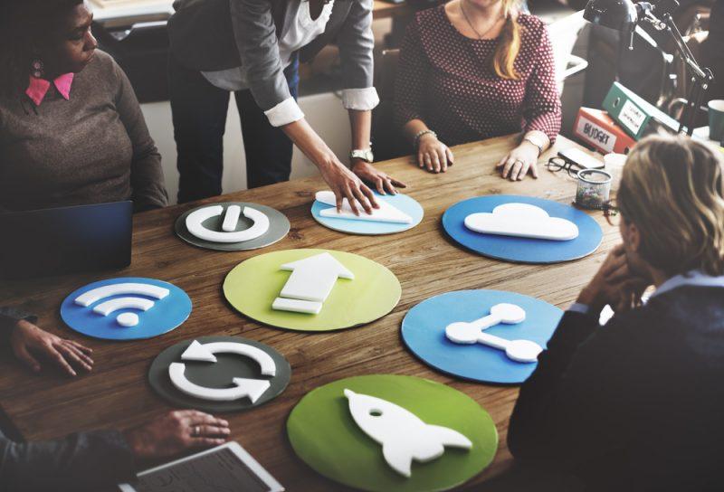 riunione di marketing