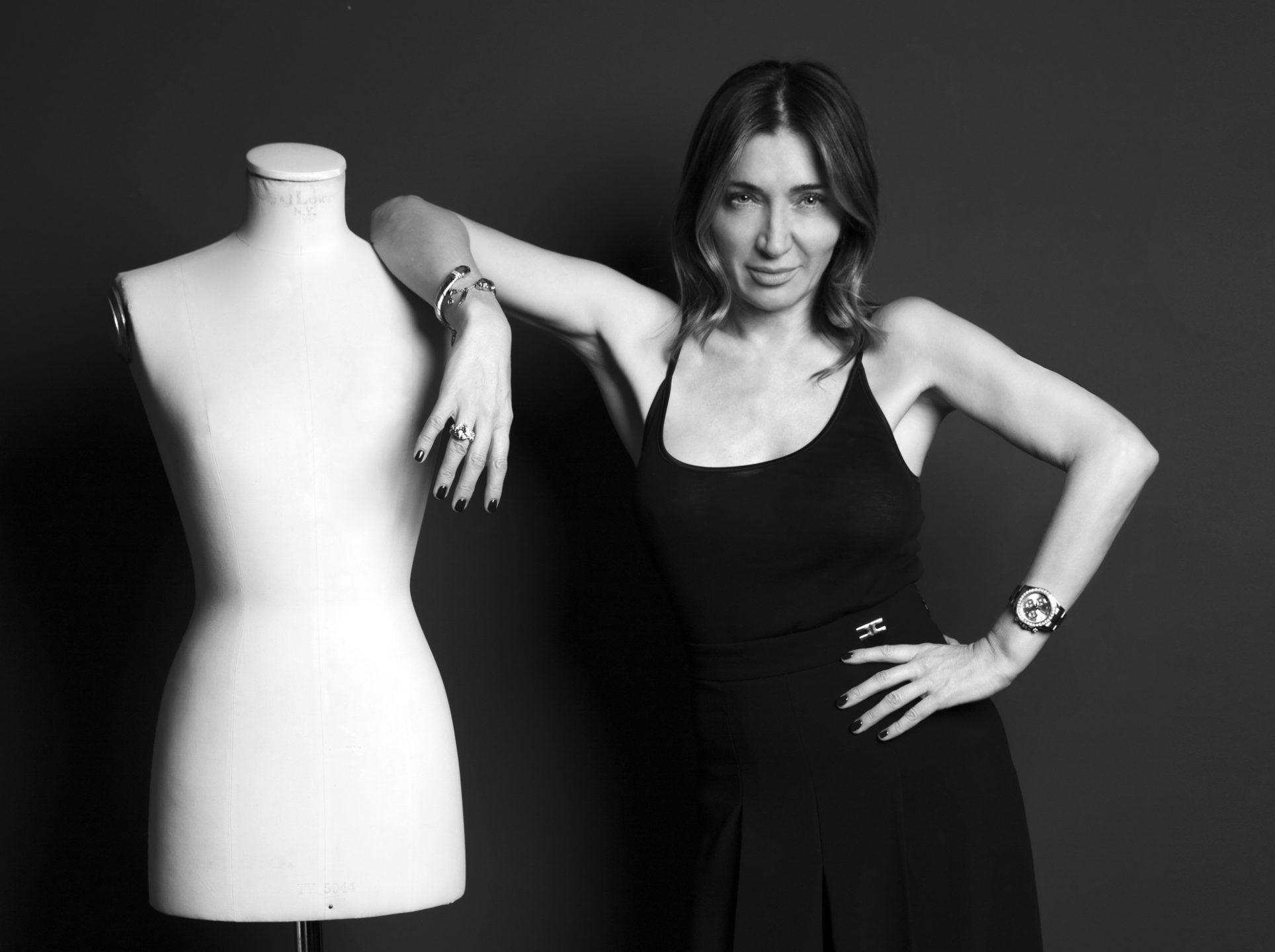 La stilista Elisabetta Franchi