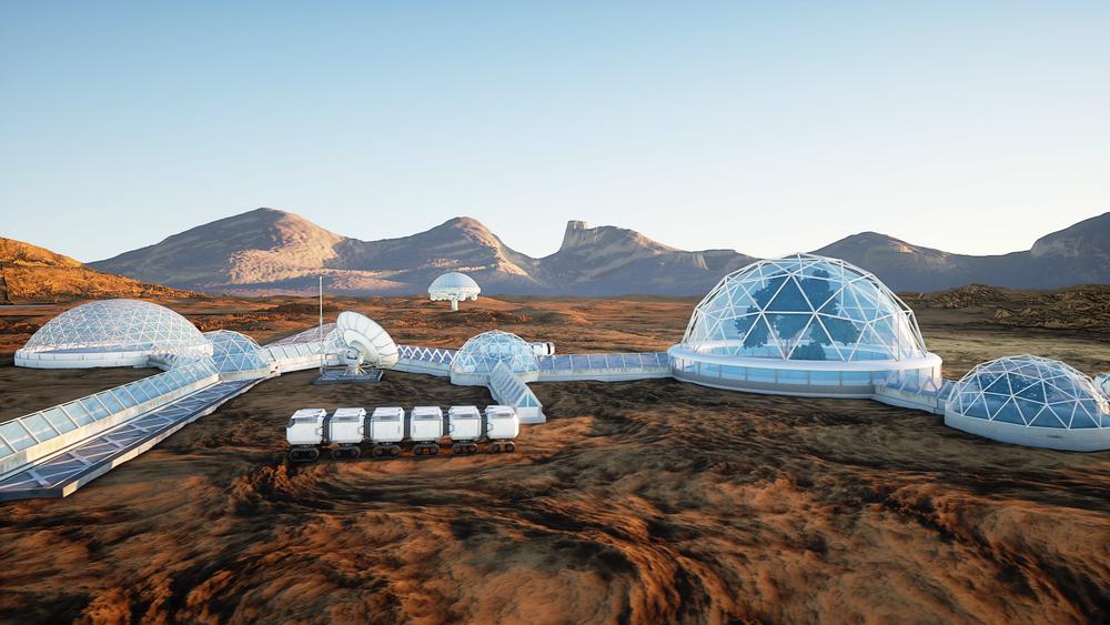 Ipotesi di insediamento umano su Marte