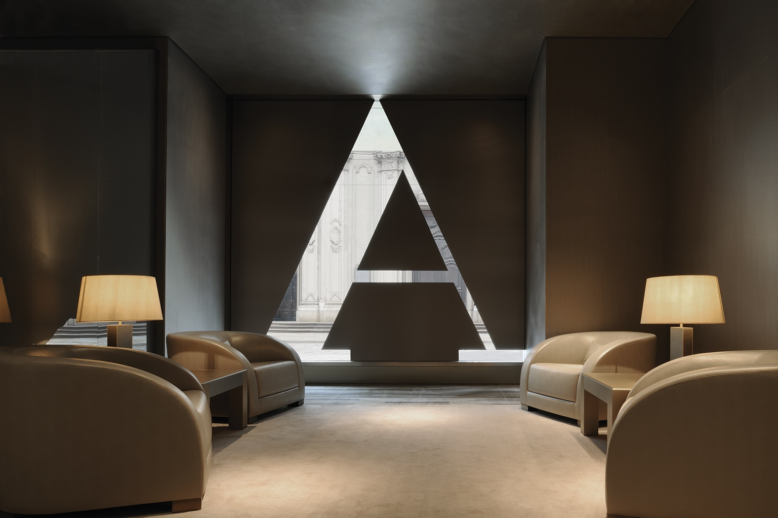 Armani Hotel Milano - Welcome Area