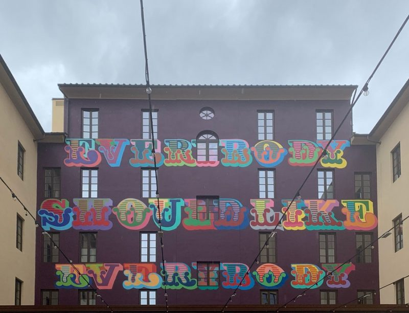 Ben Eine: Alphabet, The Student Hotel - Firenze