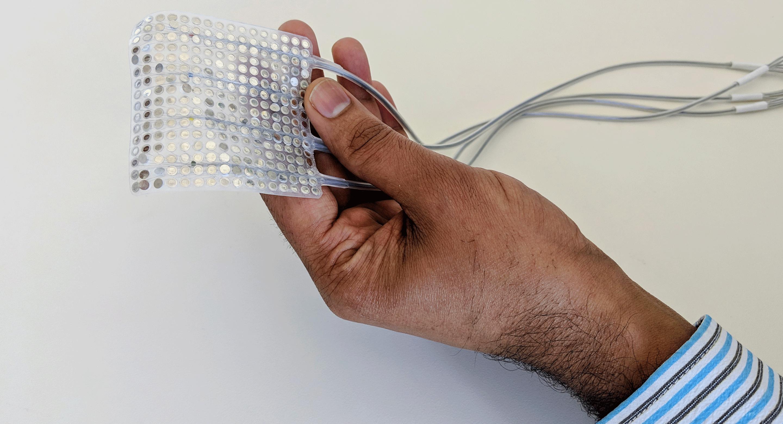 una serie di elettrodi