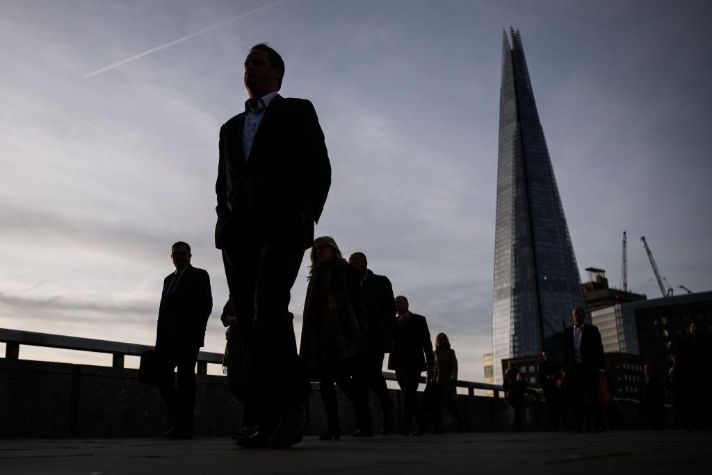 pendolari a Londra