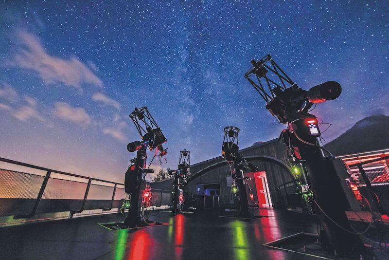 Alcuni telescopi prodotti da Officina Stellare