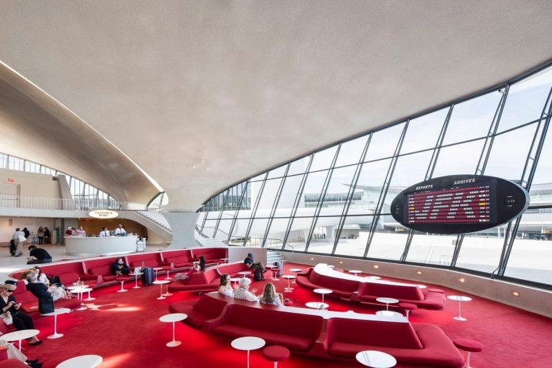 Il terminal Twa all'aeroporto JFK di New York