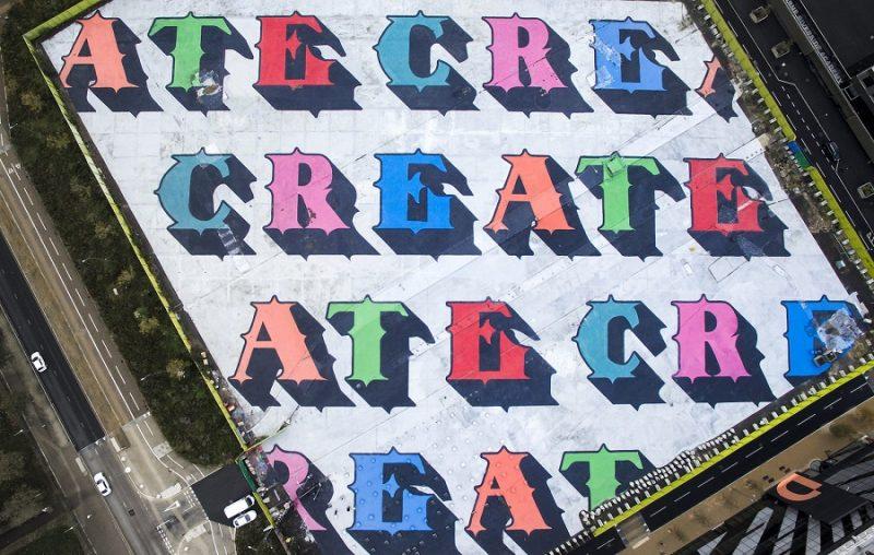 Ben Eine: Create, Londra 2018