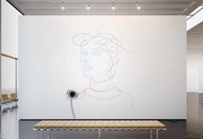 Scribit, il robot per disegnare sui muri, e cancellare