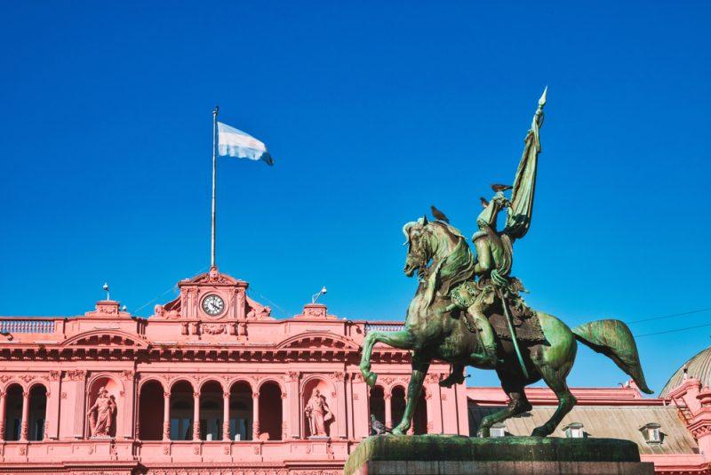 la casa rosada in argentina