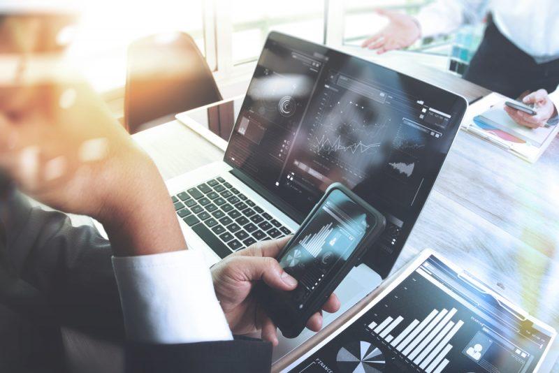 investimenti su tablet