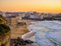 La spiaggia di Biarritz