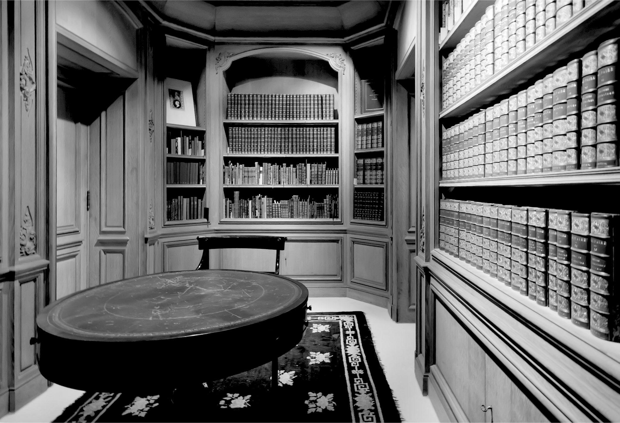 biblioteca in casa