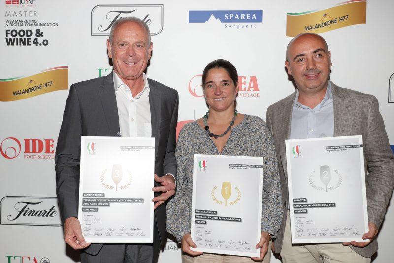 Migliori vini italiani: i vincitori del Best Italian Wine Awards 2019