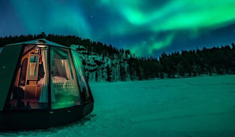 Viaggio al Polo Nord: North Pole Igloo Hotel di lusso