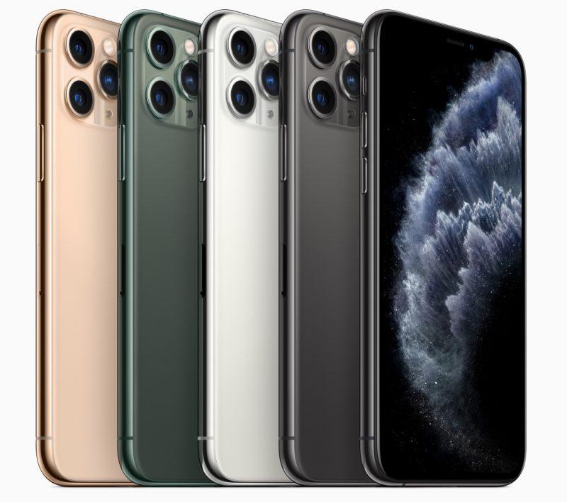 Le nuove colorazioni dell'iPhone Pro