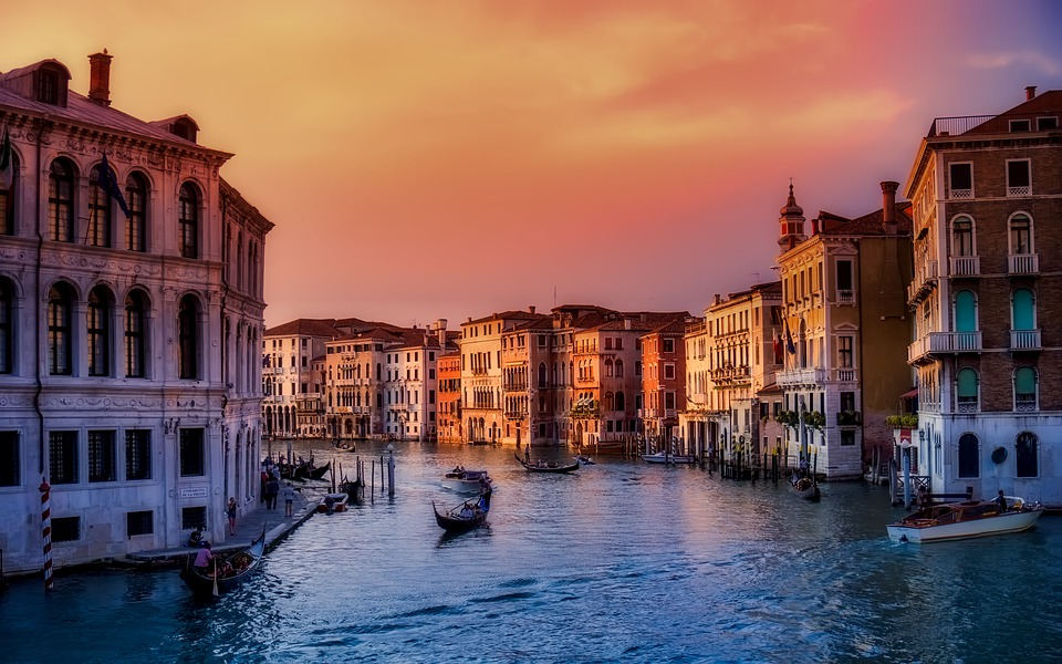 Turismo, Italia: Venezia - Travel & Tourism Competitiveness Report 2019