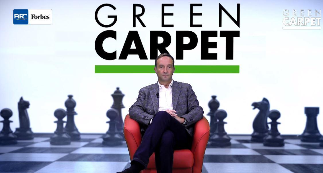 Albergoni Linkedin Green Carpet