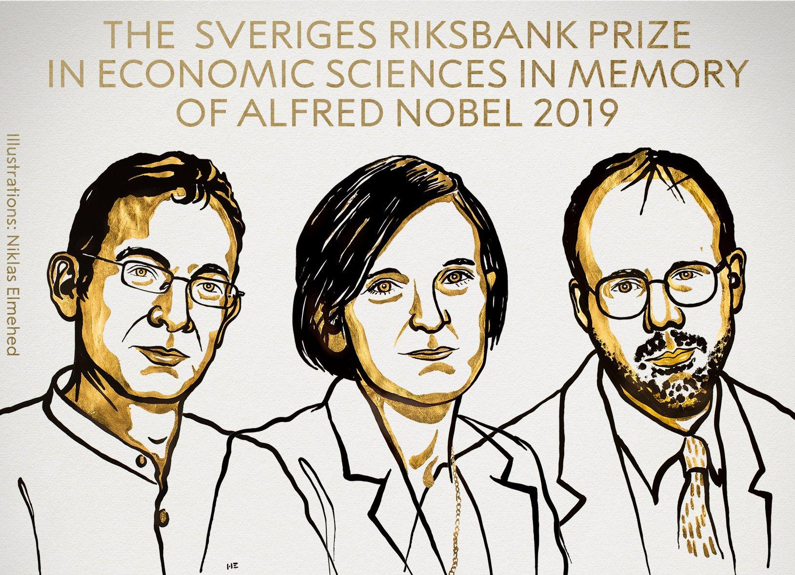 Il Nobel per l'Economia a Abhijit Banerjee, Esther Duflo e Michael Kremer