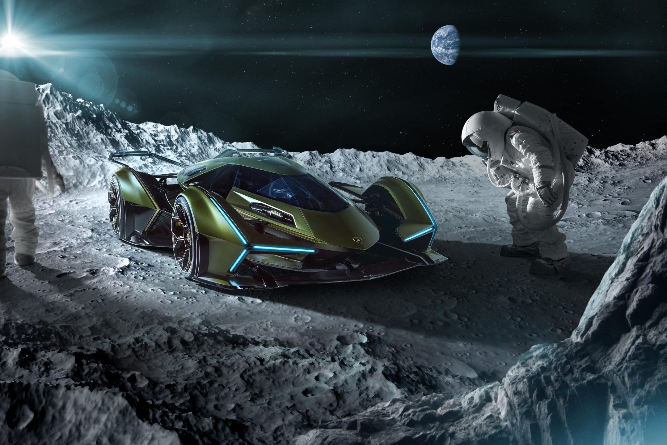 Lambo V12 Vision Gran Turismo, la concept virtuale di Lamborghini
