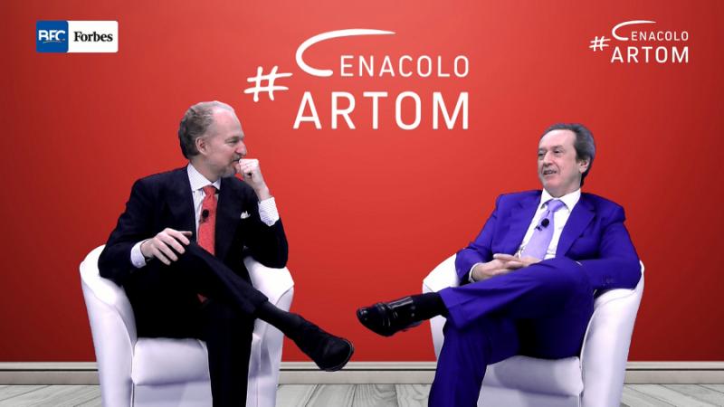Cenacolo Artom, Angelo Mastrolia ospite di Arturo Artom