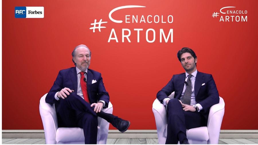 Al Paolo Barletta ospite a Cenacolo Artom