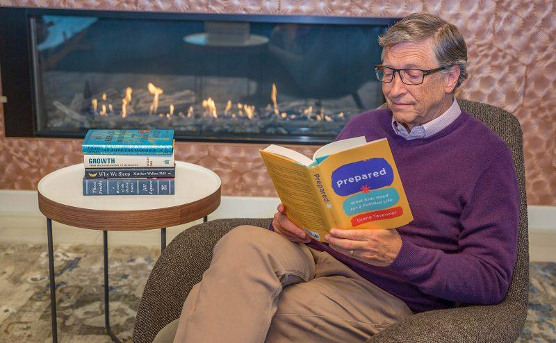 i 5 libri preferiti da Bill Gates nel 2019