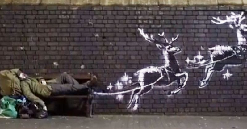 Bansky video di Natale