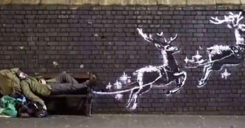 Bansky video di Natale