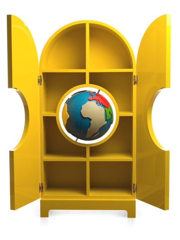 Globe Gufram, arredamento di design italiano
