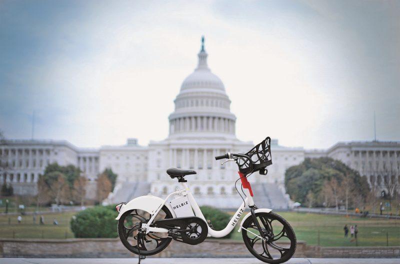 Mobilità sostenibile: Greta Helbiz e-bike elettrica