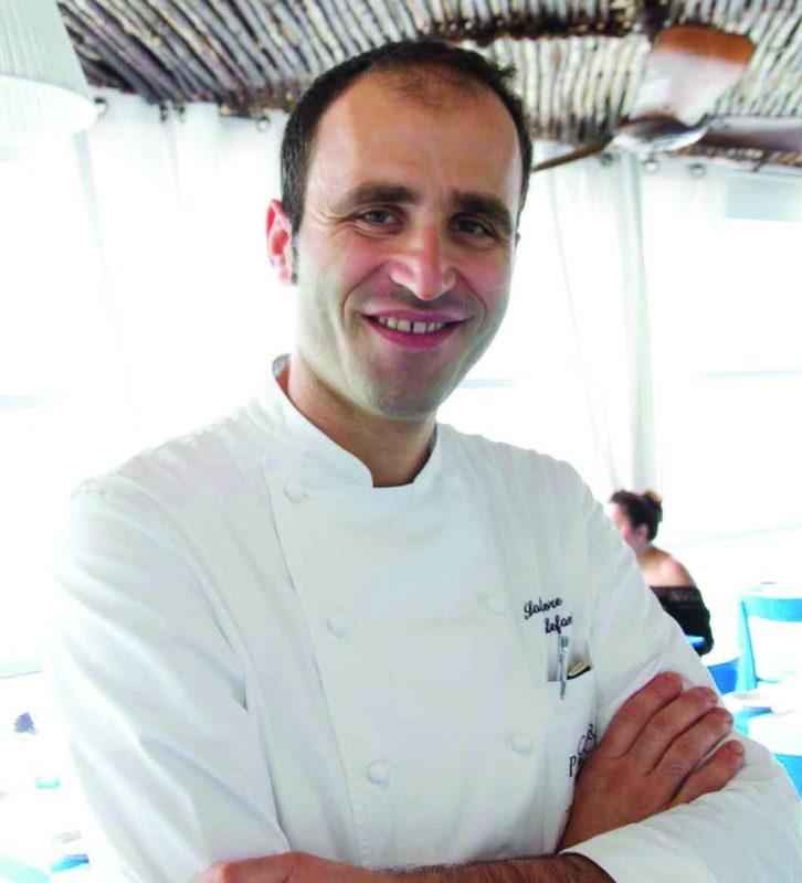 Salvatore Elefante chef del ristorante stellato Capri Palace