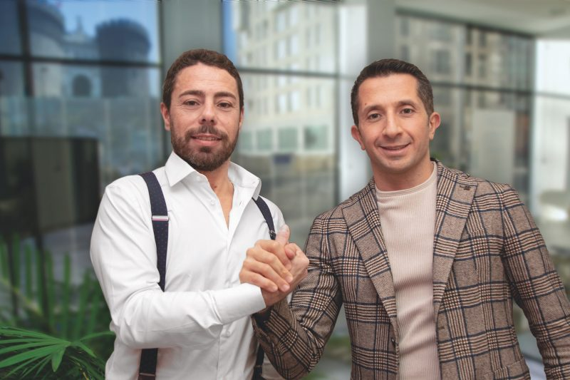 Stefano Pietrosanti e Daniele Tringale fondatori di Venere, il software centri estetici