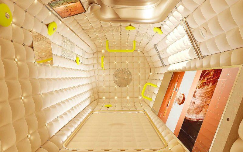 Modulo Stazione Spaziale Internazionale Iss firmato Philippe Starck per Axiom