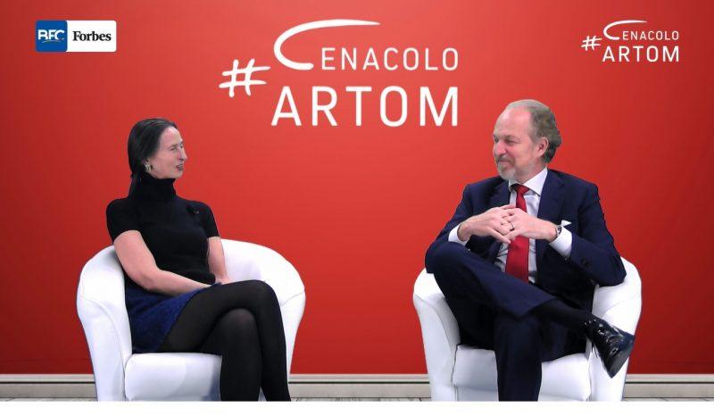 A Cenacolo Artom One to One Arturo Artom intervista Giovanna Dossena