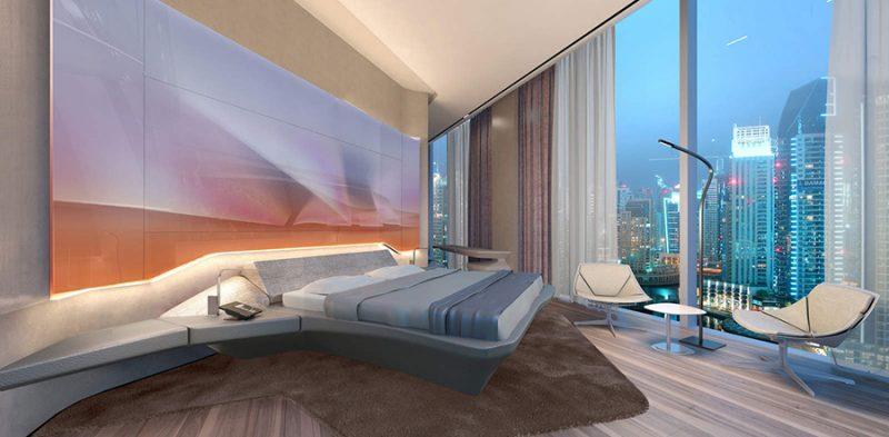 Hotel Me Dubai - The Opus Zaha Hadid