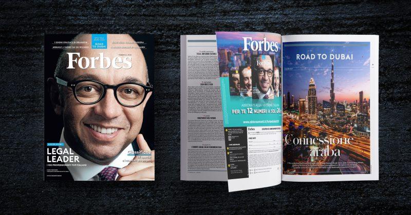 Forbes, copertina di febbraio