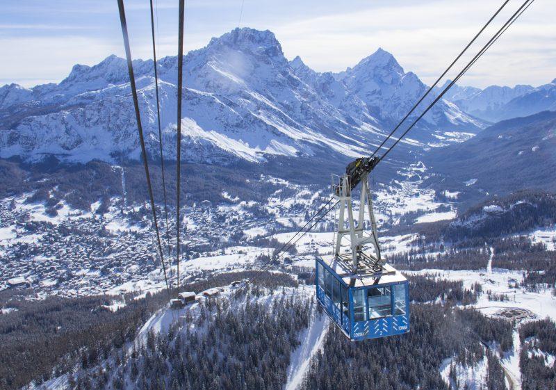 Cortina D'Ampezzo, la nuova cabinovia