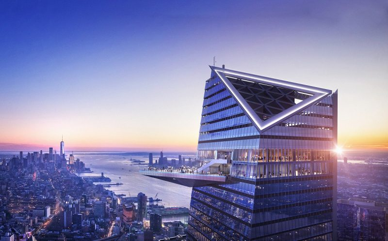 The Edge Hudson Yards New York: l'osservatorio a cielo aperto più alto dell'emisfero occidentale