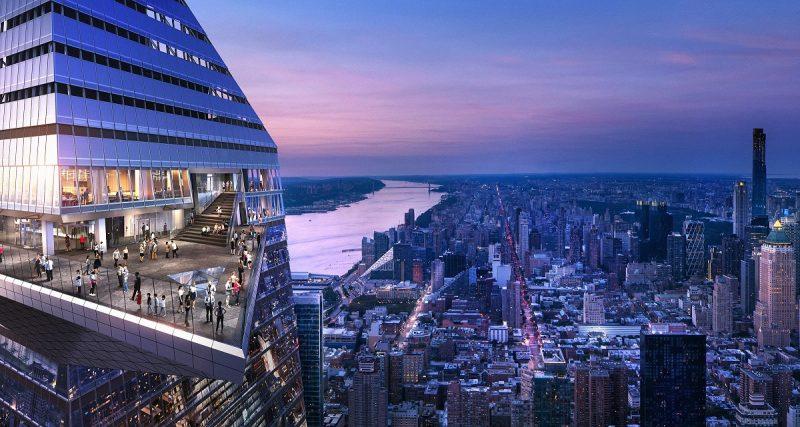The Edge Hudson Yards New York: l'osservatorio a cielo aperto più alto dell'emisfero occidentale