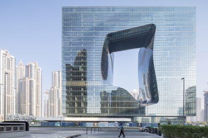 Hotel Me Dubai - The Opus Zaha Hadid - esterno
