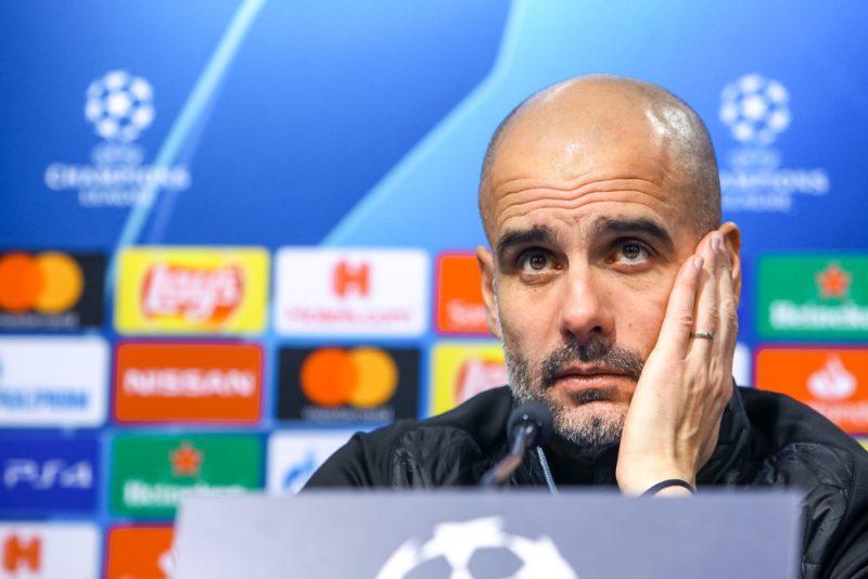 Pep Guardiola allenatore Manchester City