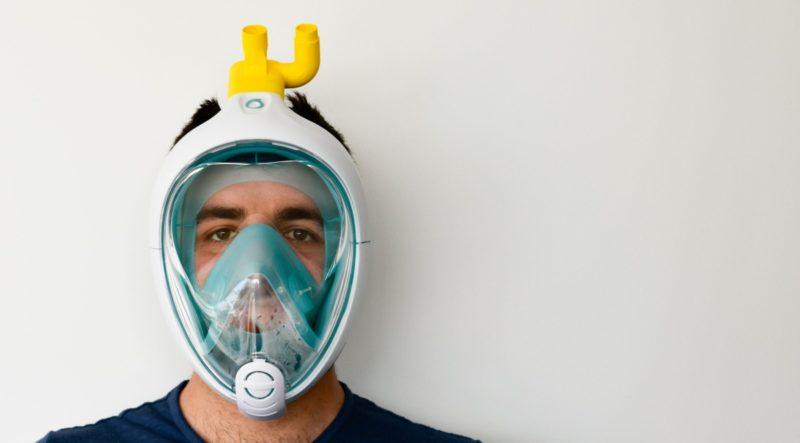 maschera da snorkeling isinnova